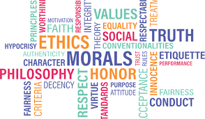 About professional and personal ethics, leadership and respect
