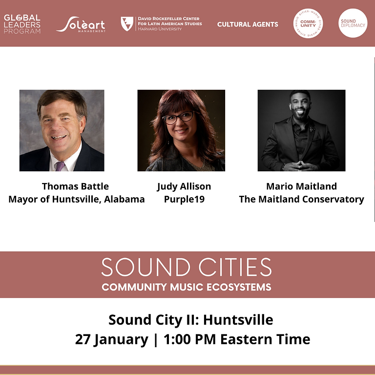 Sound Cities:  Community Music Ecosystems II