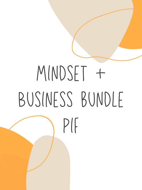 Mindset + Business bundle PIF