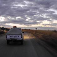 Pickup at Sunset