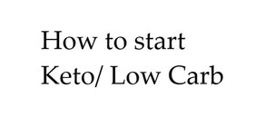 Low Carb, getting started