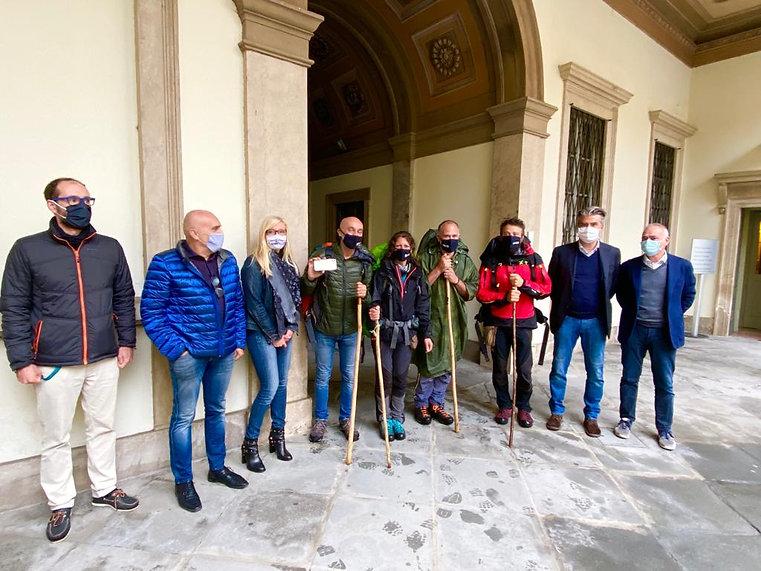 Tourist4Future- Arrivo ragazzi a Palazzo