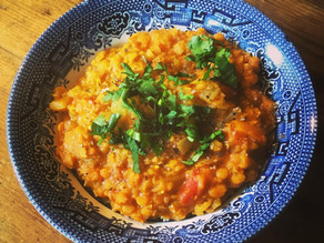 Easy Fat-Free Red Lentil Dahl