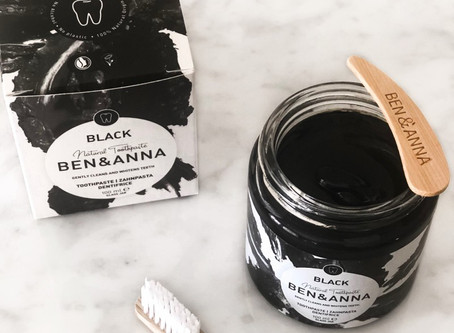 Review: Ben & Anna Charcoal Activated Toothpaste