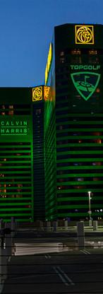 OPTIMUS & MEGATRON (right side) @ MGM Grand - Las Vegas