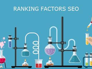 Ranking Factors: la tabella periodica della SEO