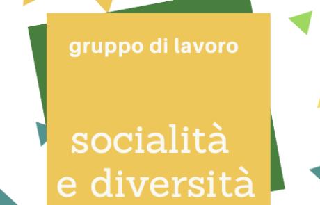 gruppo di lavoro socialità diversità