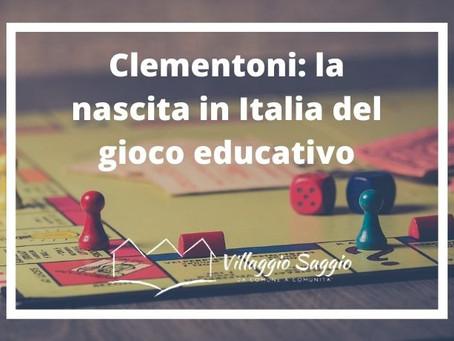 Clementoni: la nascita in Italia del gioco educativo