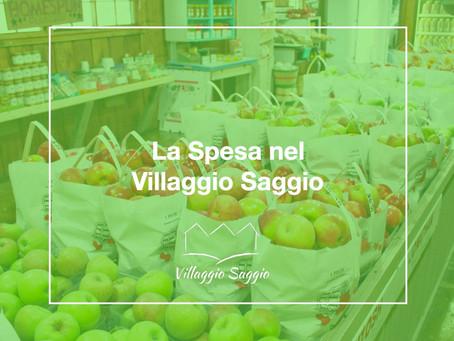 La spesa nel Villaggio Saggio (Offagna)
