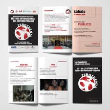 Catalogo delle proiezioni del Festival ZeroTrenta di Argenta - FE.
