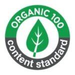 Logo Organic 100 content standard