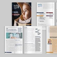 Responsabile editoriale, creazione grafica e impaginazione di Impa PCS - Rivista di Informatica.
