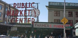 Public Market Center   Seattle, WA.