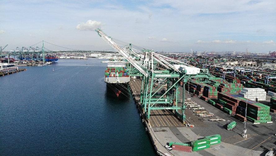 Port of L.A.   San Pedro, CA.