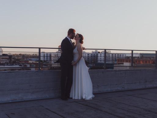 Industrial LA Wedding