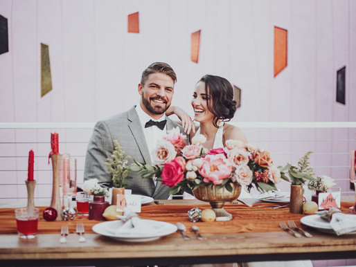 Pink Tropical Elopement