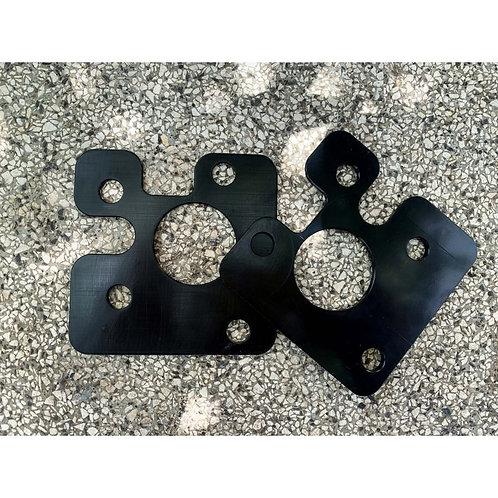 Piastre camber 500/595 abarth +1.5