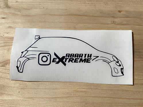 Adesivo ufficiale abartheXtreme