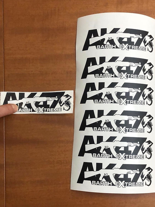 Adesivo AK47 Abarthextreme