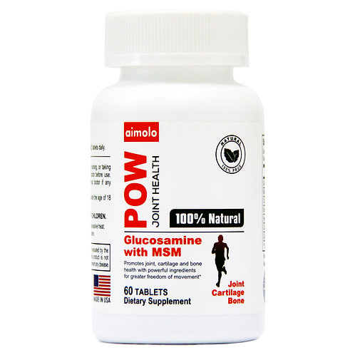 aimolo POW Joint Health Supplement With Glucosamine & MSM