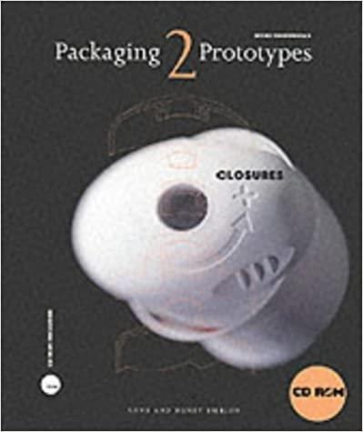 Packaging Prototypes: Closures/ Anne Emblem