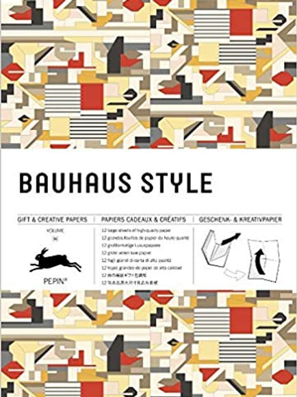 Bauhaus Style: Gift and Creative Paper Book Vol. 64/ Pepin Van Roojen