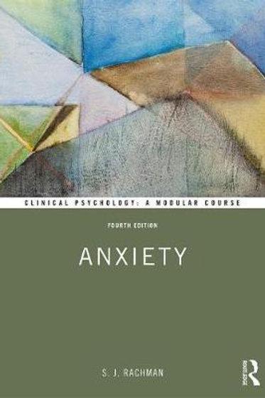 Anxiety/  Stanley J. Rachman