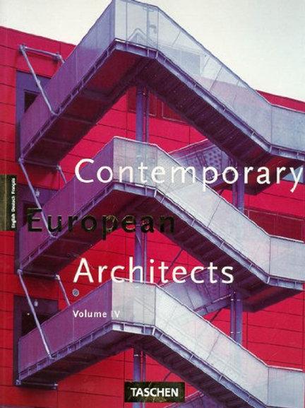 Contemporary European architects. Vol. 4/ Philip Jodidio