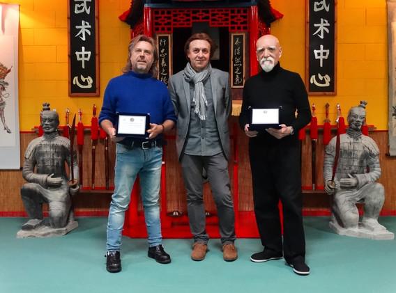 Corso Regionale MSP con il Presidente Terzo  e il Maestro Mori