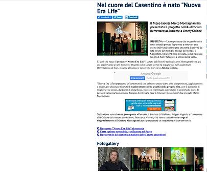 QUI NEWS CASENTINO