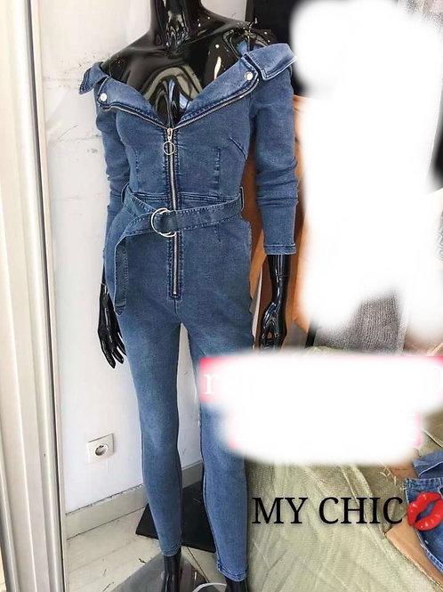Combi en jean
