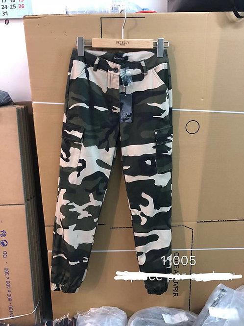Pantalon  militaire foncé