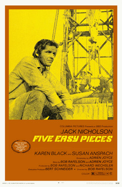 Five Easy Pieces- writer, director