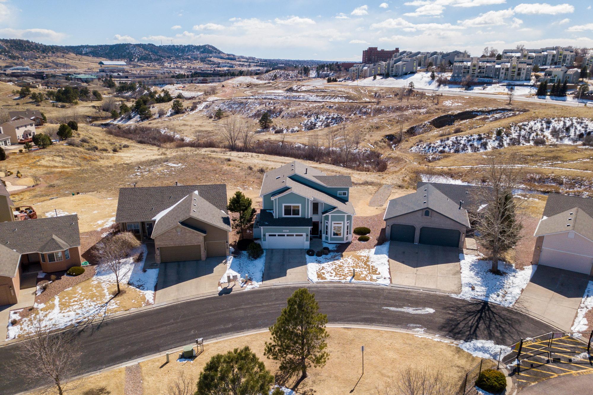 Aerial Photography Colorado Springs