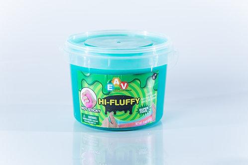 Fluffy Slime 3Lb 1.3Kg Fluffy Green #28201020