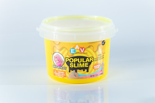 Cloud putty Crystal Slime 3Lb 1.3Kg  Lemon Yellow #28201019Y