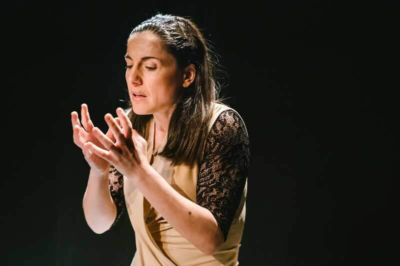 Alejandra Jiménez-Cascón se ayudó de la impro para crear su obra Blanca Desvelada