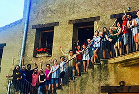 Stage de la Escuela de Impro de Barcelon