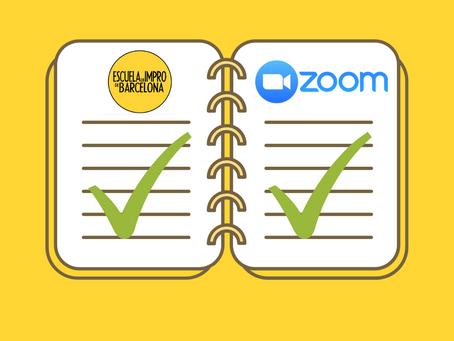 Prepara tu clase de impro digital, ¡con zoom!
