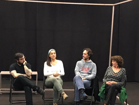 Blanca Desvelada, la creación teatral por Alejandra Jiménez-Cascón