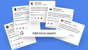 Google allows Indian users to add themselves to Search using 'People Cards'