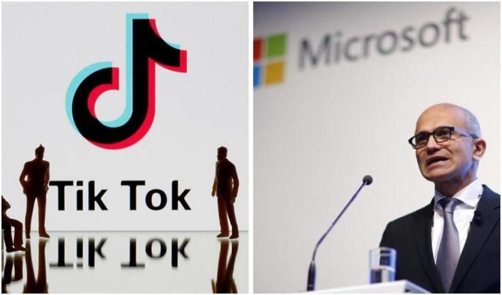 Microsoft says talks to buy TikTok