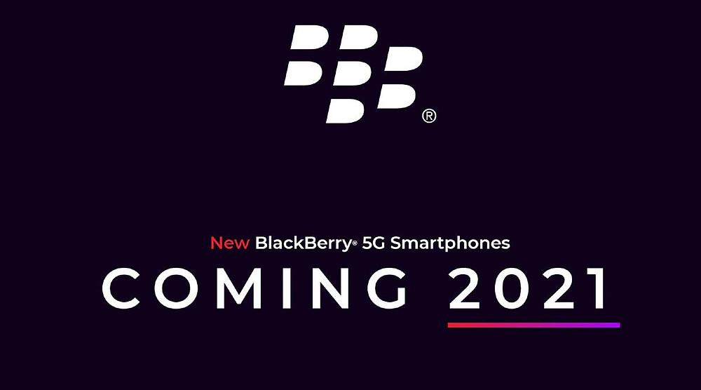 BlackBerry to produce 5G smartphones in 2021