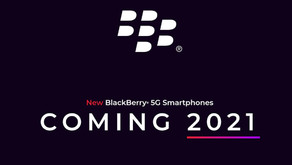 BlackBerry to produce 5G smartphones in 2021