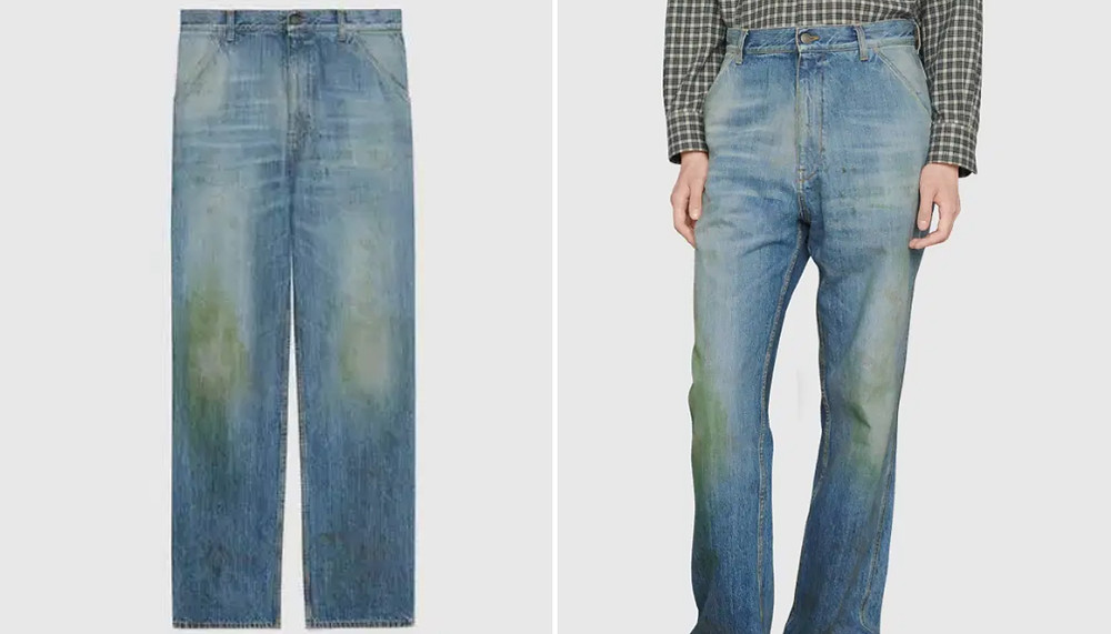 Fake ₹88,000 Gucci jeans