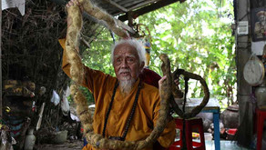 92-yr-old man grows 5-meter-long hair