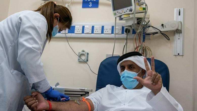 UAE leads vaccine race