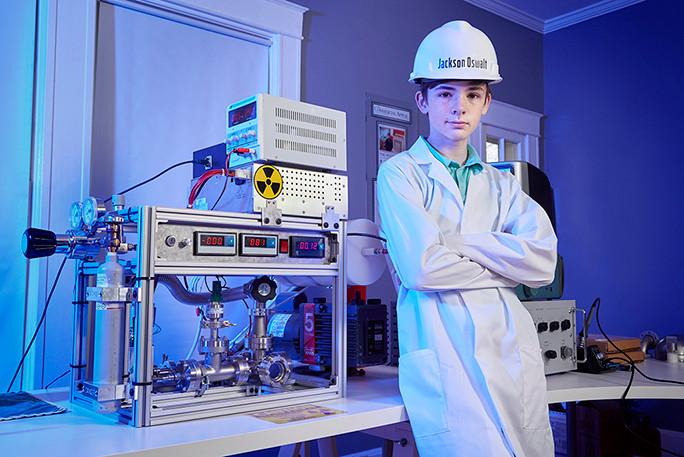 Jackson Oswalt: achieve nuclear fusion at 12