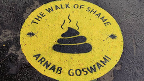Arnab's and many others Name On Walk Of Shame