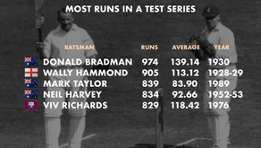 Don Bradman's history for most runs, unbroken for 90 years
